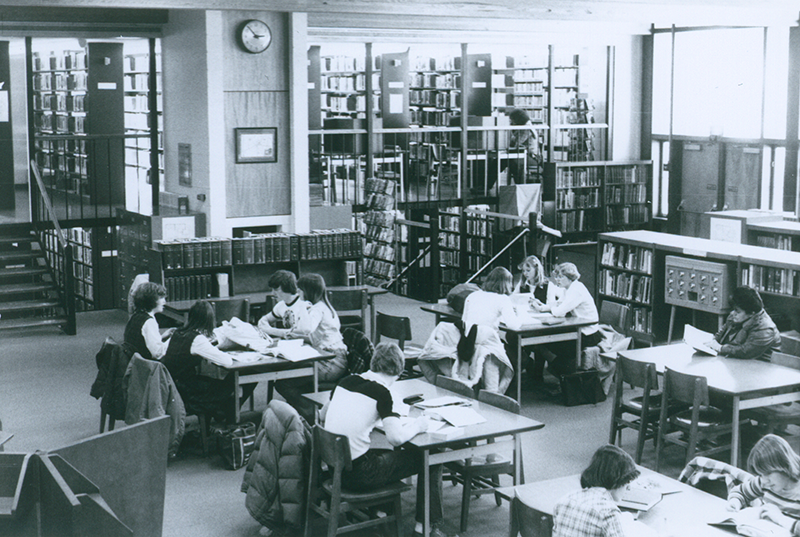 Collins Reading Room 1979