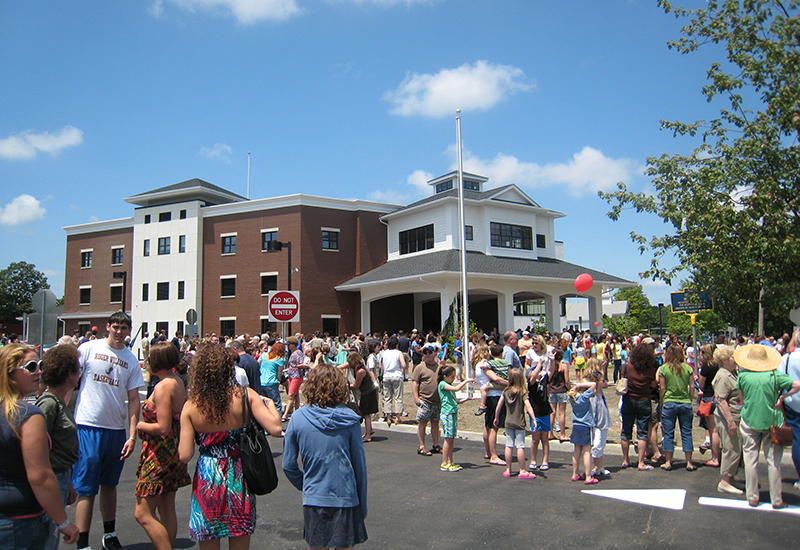 Sayville Library Grand Opening on Greene Avenue in 2009