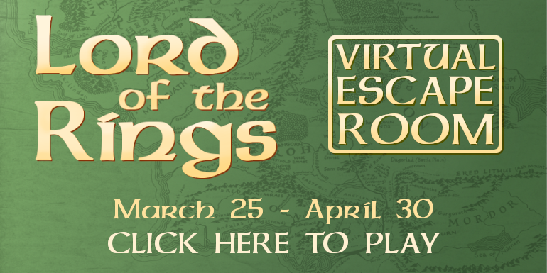 Lord of the rings escape room march 25