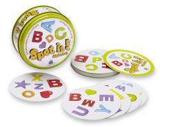 Spot it! Alphabet game set